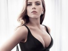 Scarlett Johansson sexy cleavage Vanity Fair magazine 2014 May 2014 issue 10x HQ