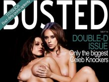 Kat Dennings and Jennifer Love Hewitt nude Busted magazine cover UHQ