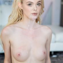 Elle Fanning leaked topless HQ photo