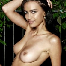 Irina Shayk leaked nude photo near swim pool in Italy UHQ photo