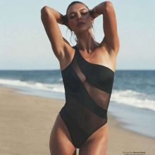 Kelly Rohrbach in see through bodysuit swimwear for GQ magazine 2016 August 10x HQ photos