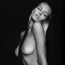 Gintare Sudziute topless nude photo shoot for Treats! magazine 10x HQ photos
