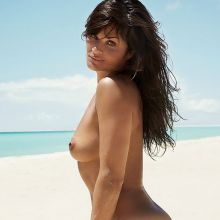 Helena Christensen topless photo shoot for Madame Figaro 2015 April 9x HQ
