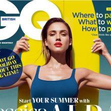 Jessica Alba sexy GQ UK 2014 August photoshoot 6x HQ