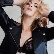 Emily Wickersham sexy lingerie 2015 photo shoot for Da Man 6x HQ