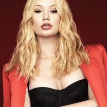 Iggy Azalea topless sexy cleavage for Remix magazine 8x HQ photos