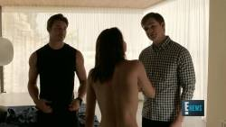 Christine Evangelista - The Arrangement S01 E02 720p lingerie topless nude sex scenes