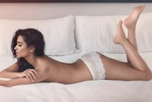 Shay Mitchell hot Maxim Magazine 2015 February issue 8x HQ