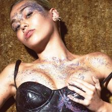 Miley Cyrus topless for W magazine 2015 September 3x UHQ