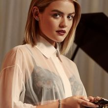 Lucy Hale sexy see through for Elle magazine 2016 March 6x HQ photos