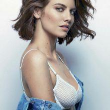 Lauren Cohan sexy lingerie for GQ magazine February 2017 10x UHQ photos