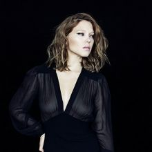 Lea Seydoux see through dress on Thomas Lavelle photo shoot for Marie Claire 11x MixQ