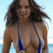 Chrissy Teigen - Sports Illustrated Swimsuit 2017 topless bare ass see through tiny bikini big boobs big ass 31x HQ photos