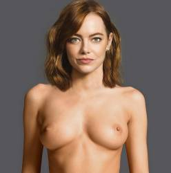 Emma Stone full frontal naked for Love magazine UHQ