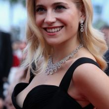 Pixie Lott nip slip on premiere of Dheepan at the 68th annual Cannes Film Festival 12x UHQ