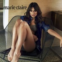 Lea Michele sexy leggy for Marie Claire 2015 november 4x HQ