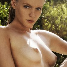 Isabella Farrell nude topless for Treats! magazine 20x UHQ photos