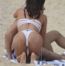 Jacqueline Wood sexy bikini candids on the beach in Bondi 31x HQ photos