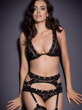 Sarah Stephens hot see through Agent Provocateur lingerie collection 37x HQ