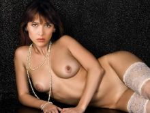 Sophie Marceau young nude photo shoot UHQ
