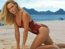Caroline Wozniacki nude naked topless bodypaint see through Sports Illustrated sexy Swimsuit 2016 photo shoot 21x HQ