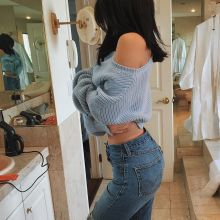 Kylie Jenner show hot ass on mirror selfies Instagram 3x HQ