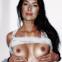 Lena Headey young topless phot HQ