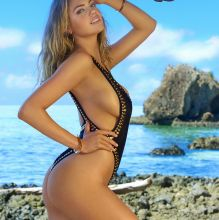 Kate Upton - Sports Illustrated Swimsuit 2017 topless bare ass see through tiny bikini big boobs big ass 37x HQ photos