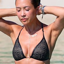 Myleene Klass wearing sexy bikini on the beach in Thailand 21x UHQ photos