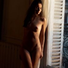 Nicole Mieth nude spread legs naked for Playboy Germany February 2017 13x HQ photos