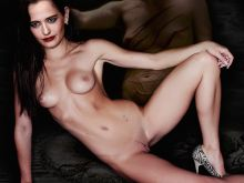Eva Green naked Penny Dreadful poster UHQ