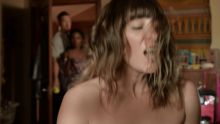 Ruby Modine, Isidora Goreshter - Shameless S07 E06 1080p topless nude naked sex scenes