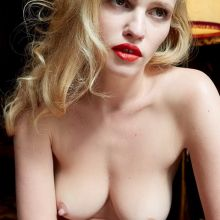Lara Stone nude System magazine topless photo shoot 9x MixQ