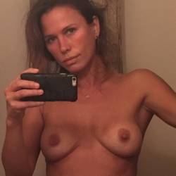 Rhona Mitra leaked topless selfies 11x MixQ photos