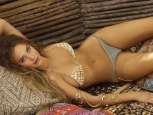 Hannah Davis - Sports Illustrated Swimsuit 2017 topless see through tiny bikini 30x HQ photos