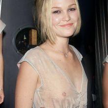 Julia Stiles braless in see through dress on 'O' premiere 2001 HQ photos