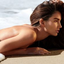Lily Aldridge topless Maxim 2015 April issue 7x HQ
