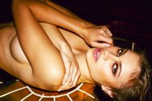 Yara Khmidan topless Bambi magazine photo shoot 12x HQ