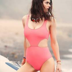 Alexandra Daddario sexy swimsuit on Women's Health magazine June 2017 8x HQ photos