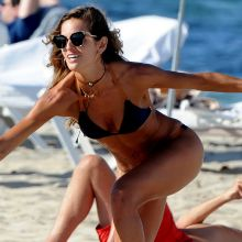 Izabel Goulart wearing sexy bikini on the beach in Ibiza 33x HQ photos