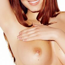 Sabine Jemeljanova topless Page 3 photo shoot 2014 April 3x HQ