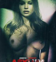 Jennifer Lawrence topless Asylum poster UHQ