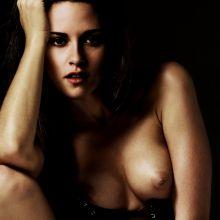 Kristen Stewart nude portrait VUHQ