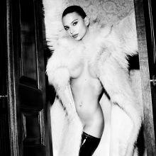 Emily Ratajkowski nude Mario Testino photo shoot for GQ UK 2015 October 11x HQ