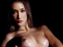 Maggie Q sexy nude in hot photo shoot UHQ