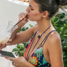 Victoria Justice sexy swimsuit candids in South Beach 25x HQ photos