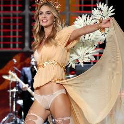Megan Williams sexy see through lingerie cameltoe 2017 Victoria's Secret Fashion Show 19x MixQ photos