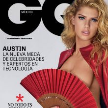 Charlotte McKinney nude GQ Mexico 2016 February cover 4x HQ photos