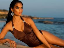 Shanina Shaik sexy Madeleine Beach & Swimwear photo shoot 12x UHQ
