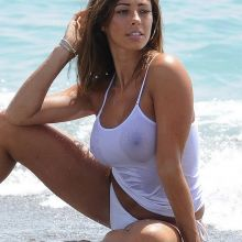 Pascal Craymer in wet see through top photo shoot in Ibiza 17x HQ photos